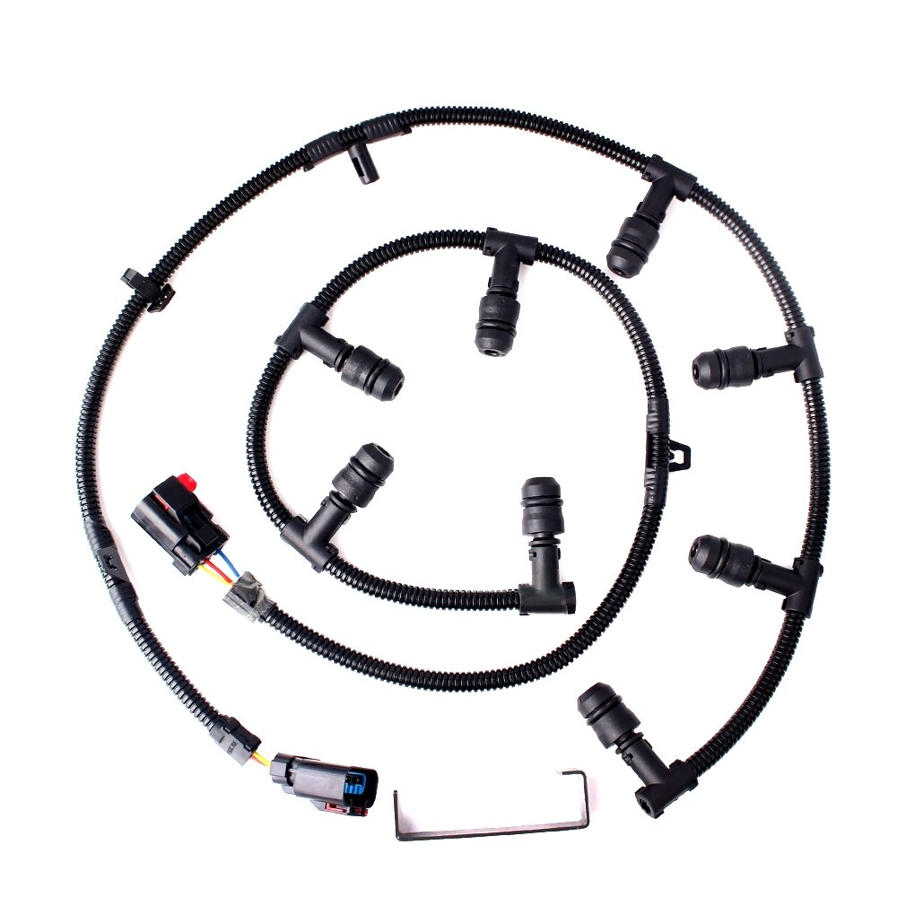 medium resolution of get quotations ford 6 0 powerstroke glow plug wire harness left right with removal tool ford f250