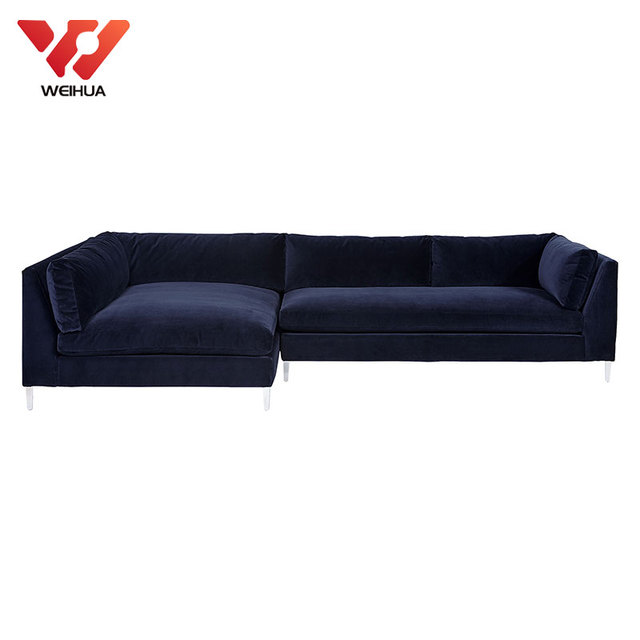 duck feather corner sofa black sectional sofas source quality from global modern designs blue velvet fabric large couch