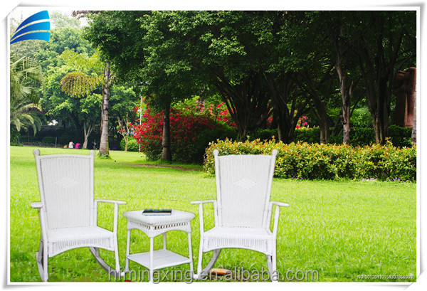 two seater lawn chair pine table and chairs 2 set yuanwenjun com outdoor patio hand woven pe rattan wicker white rocking