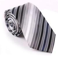 Silk Fabric Men's Strip Silk Jacquard Woven Ties - Buy ...