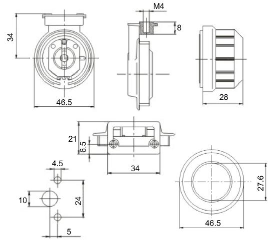 T8 Waterproof Fluorescent Light Fixtures Ip67 /t8
