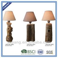 Hotel Lamps With Electrical Outlets Wood Finish Power