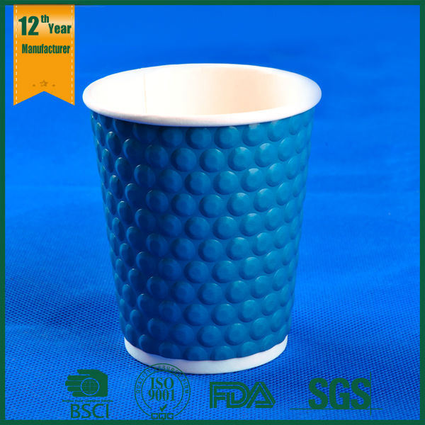 evaluation paper cup in microwave