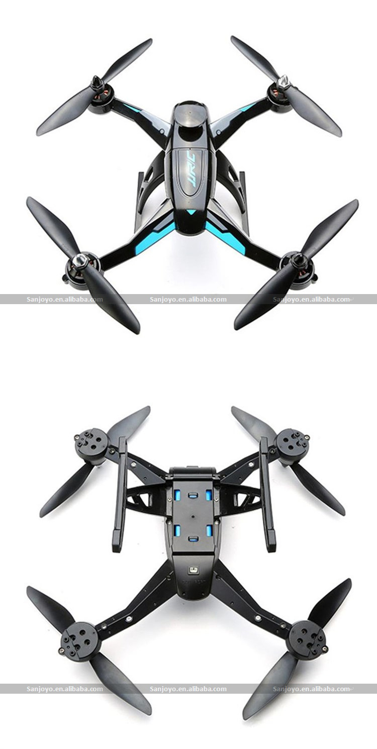 2015 New Rc Quadcopter Jjrc X1 Brushless Motor Drone With
