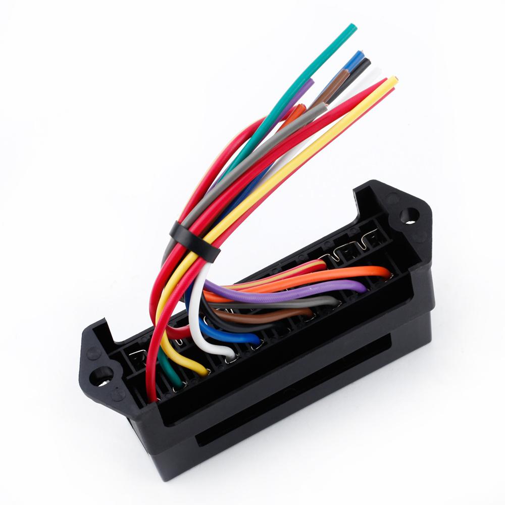 medium resolution of buy 10 way blade fuse circuit box dc 12v 24v 32v circuit car trailer auto fuse