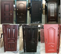 Egypt Market Popular Door Design Iron Single Doors Design