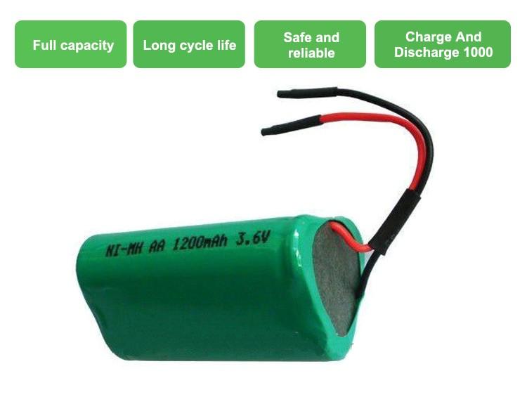 Ni Mh 36v 1200mah Aa Rechargeable Battery Pack Buy Ni