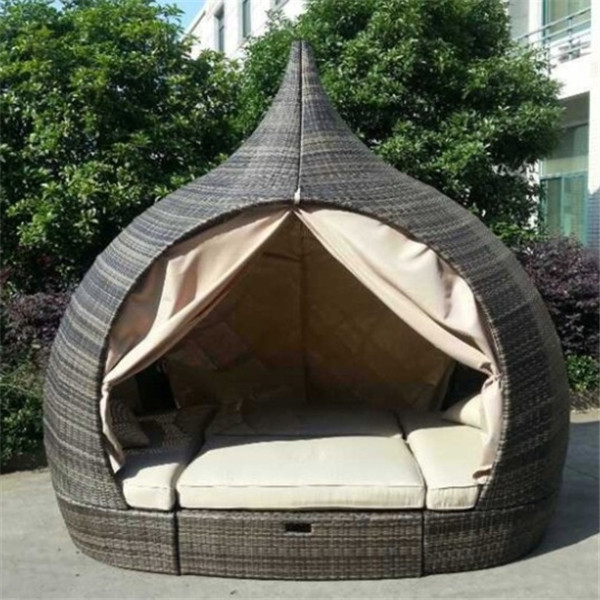 2015 Hotselling Wicker Outdoor Bed Design Furniture  Buy