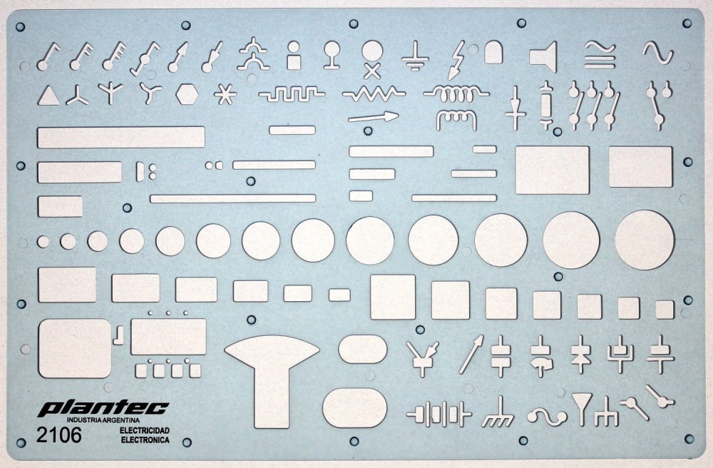 medium resolution of electrical and electronic installation symbols drawing template stencil engineering drafting supplies layout plan schematic