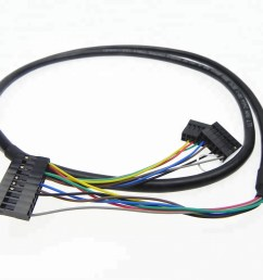 customized 16 pin connector lvds cable wiring harness assembly for car stereo [ 1000 x 1000 Pixel ]