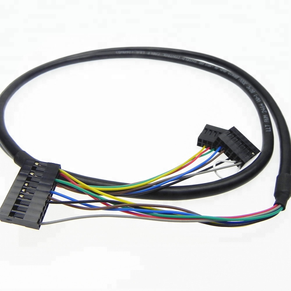 hight resolution of customized 16 pin connector lvds cable wiring harness assembly for car stereo