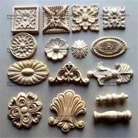 Decorative Wood Ornamental Furniture Mouldings Appliques ...