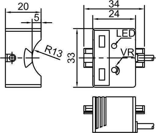capacitive proximity sensor wiring diagram