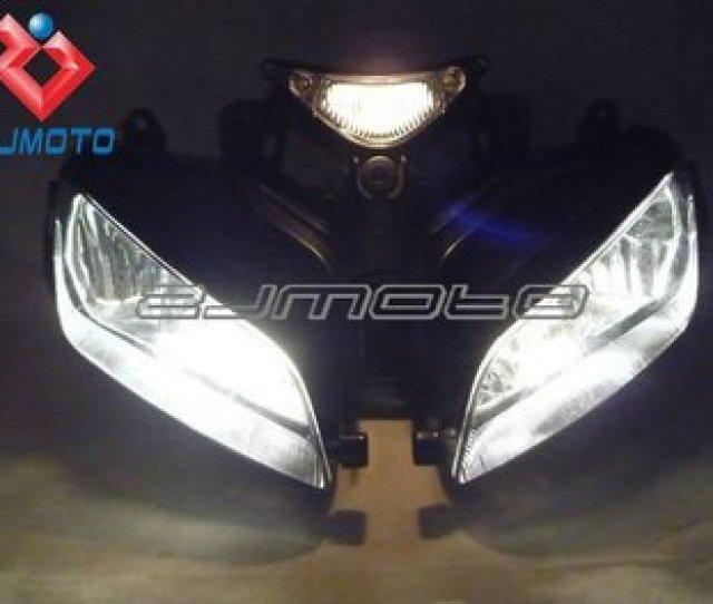 New Motorcycle Headlight Head Light Lamp With 12v H7 Bulbs For Honda Cbr 1000rr 1000 Rr Cbr1000rr   Buy Motorcycle Headlihgt Cbr1000rr