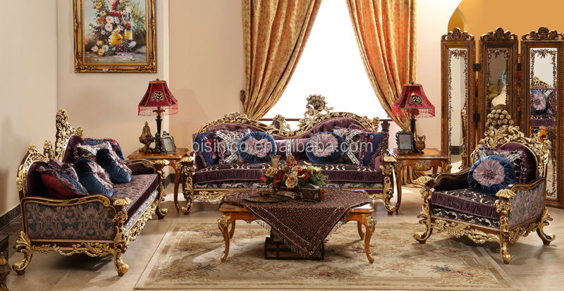 retro living room furniture sets simple interior design for small area baroque style sofa set wood carving whole
