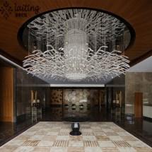 Modern Hotel Lobby Custom Chandelier Light