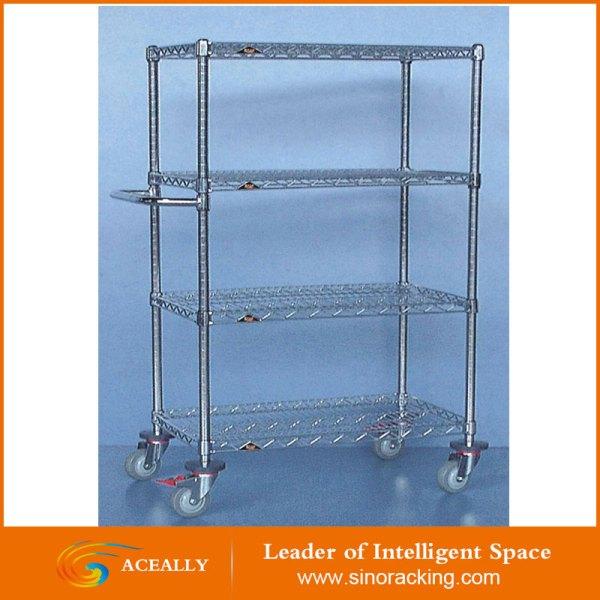 Heavy Duty Wire Shelving Warehouse Storage System