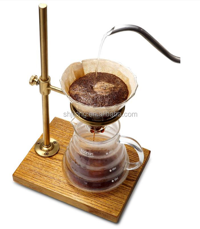 portable dripper stand pour