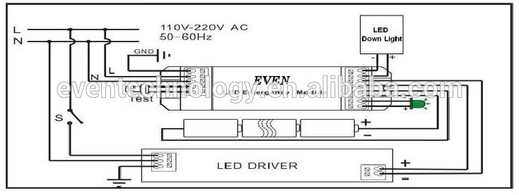 Simkar eb100 emergency ballast wiring diagram