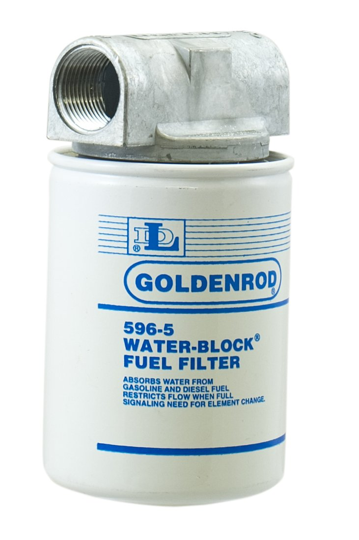 hight resolution of get quotations goldenrod 596 3 4 canister water block fuel tank filter with