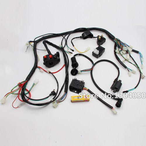 small resolution of solenoid wiring harness 150cc go kart hammerhead go kart gy6 150 buggy gy6 150cc go kart