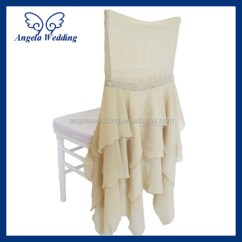 Cream Chair Covers For Weddings Emil Leather Slipper Ch016a Popular Fancy Wholesale Cheap Wedding Chiffon