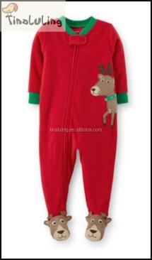 One Piece Boys Pajamas with Feet