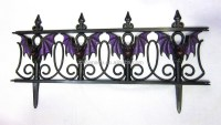 Halloween Outdoor Decoration Halloween Bat Garden Fence ...