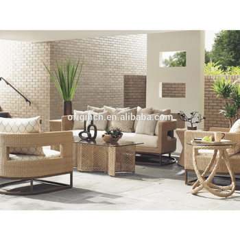 wicker sofa set philippines cindy crawford beachside designer unique style synthetic rattan with scatterback pillows outdoor furniture manila