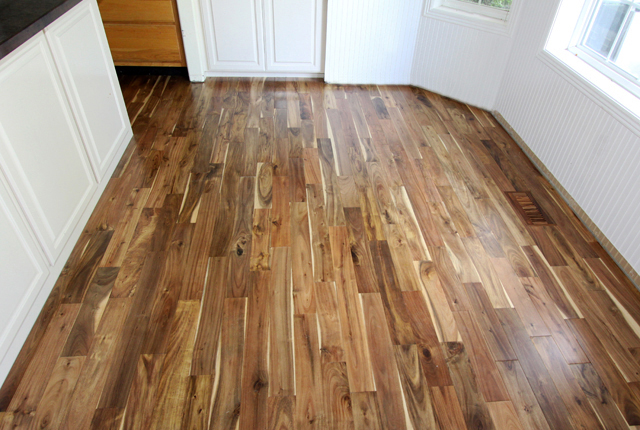 Best Prices Smooth Acacia Engineered Solid Hardwood