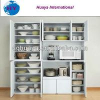 Free Standing Kitchen Storage Cabinet With Shelves