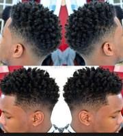 black men hair salon roller