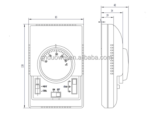 honeywell fcu thermostat wiring diagram ibanez bass t6373bc1130 for fan coil unit buy t6373