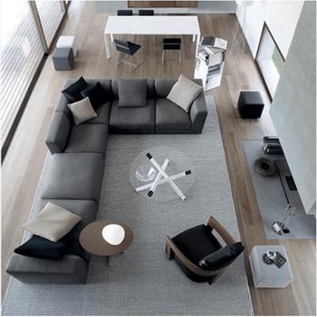 big living room sectionals affordable sets sofa home furniture sectional modular fabric set