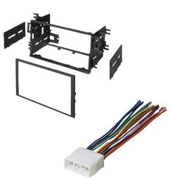 honda 1999 2000 civic car stereo radio cd player receiver install mounting kit wire harness [ 1000 x 1000 Pixel ]