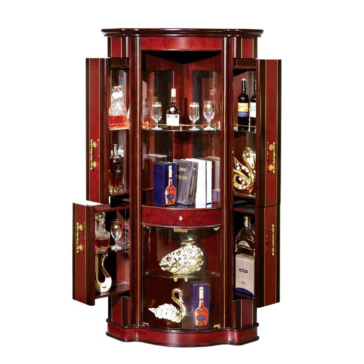 Distressed Corner Bar Cabinet,Bar Furniture Corner Bar