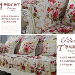 3 Seater Sofa Cover Tan Set French Alibaba Used Patio Furniture Floral Print Fabric ...
