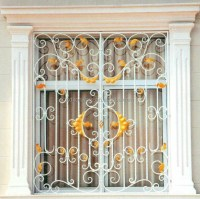 Ornamental Wrought Iron Window Grill Design Home - Buy ...