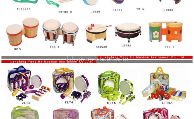 Children Toy Names Of Musical Wind Instrument Bar Chime