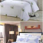 Luxury Cotton 300tc Hotel Home Goods White Custom Logo Bedding Set Bed Sheet Comforter Duvet Cover Bedspread Fitted View Hotel Luxury Bedding Set Tidebuy Product Details From Yiwu Lingtong Import Export