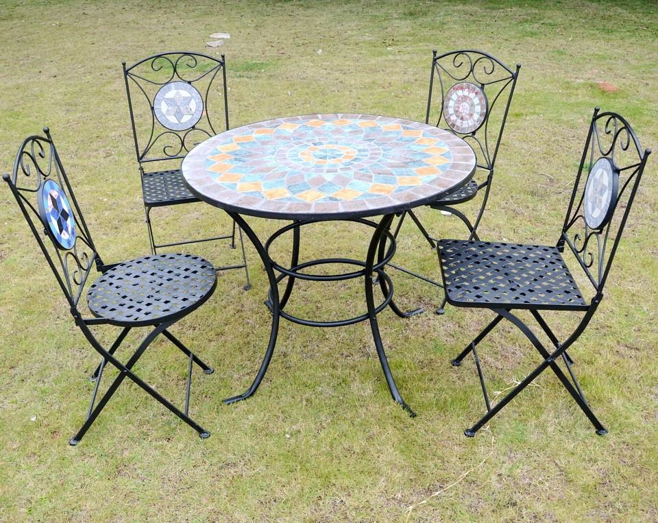 bistro sets ceramic stick mosaic outdoor table buy outdoor table outdoor mosaic table outdoor bistro sets product on alibaba com
