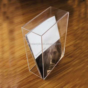 handmade acrylic book box