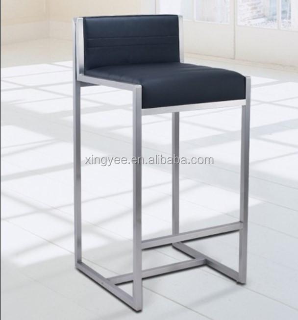 Modern Kursi Bar Furniture Counter Tinja Perlengkapan Rumah Kursi Tinggi Disikat Stainless Steel Bar Stool Kulit Asli Kursi Bar Buy Bar Kursi Bar Stool Wooden Bar Meja Kursi Product On Alibaba Com