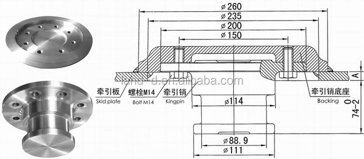 Factory Heavy Duty Bolt-in Assembly Bolt Torque Setting