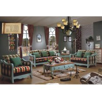 Mediterranean Style Living Room Furniture,American Rustic ...