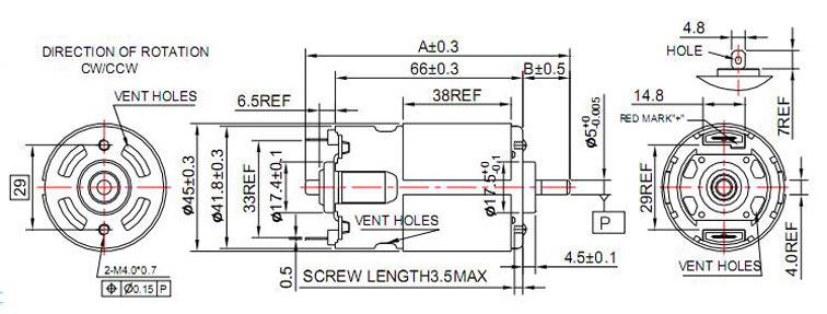 high torque high power reverse rotation single phase ac