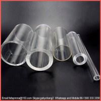 Clear Cast Acrylic Tube & Clear Extruded Acrylic Tube And ...
