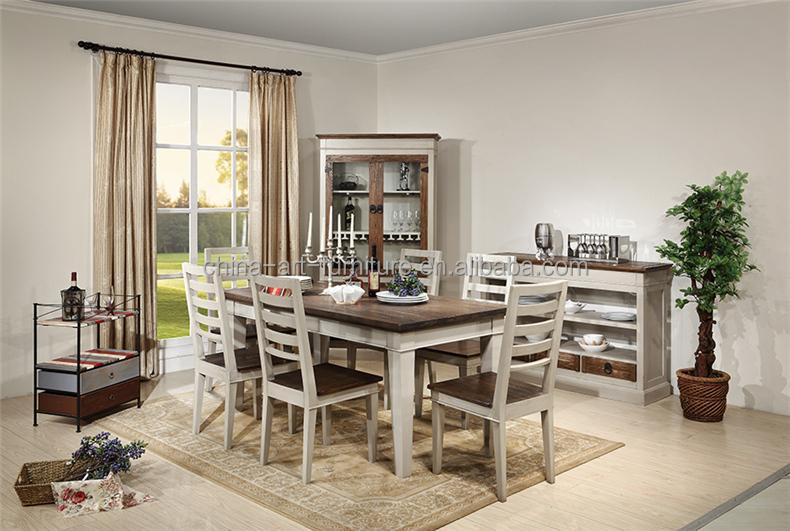 reproduction de style europeen table a manger ensemble bouleau elm sortie d usine