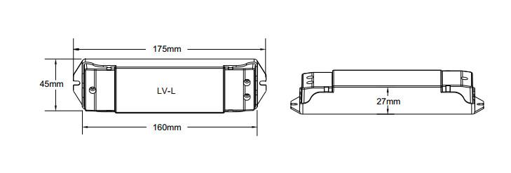 Dc12v-36v Lv-l 0-10v Dimmable Cv Constant Voltage Led