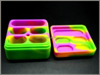 4+1 Large Lego Silicone Container Silicone Jars Dab Wax ...